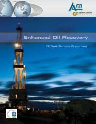Oil Well Service Equipment - ACD