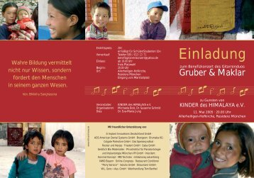 Einladung - Hermann Hauser Guitar Foundation