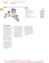 SPX9000 Drives - Klockner Moeller Parts