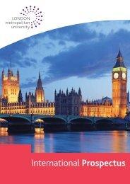 International Prospectus - London Metropolitan University