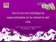 Servicios microbiológicos especializados en la industria del vino
