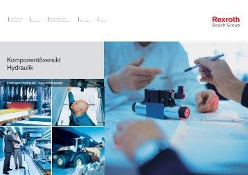 Svensk komponentöversikt - Bosch Rexroth