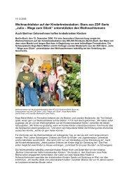 HELIOS Klinikum Berlin-Buch 15.12.2006 - Kinderlaecheln ...