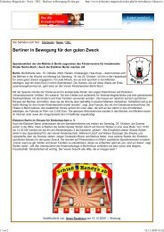 Eishockey Magazin - Kinderlaecheln-Förderverein für krebskranke ...