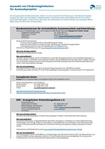 pdf-Datei - Stiftung Nord-Süd-Brücken