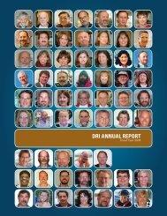DRI ANNUAL REPORT - Desert Research Institute