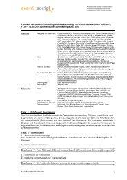 Protokoll der ordentlichen Delegiertenversammlung ... - AvenirSocial