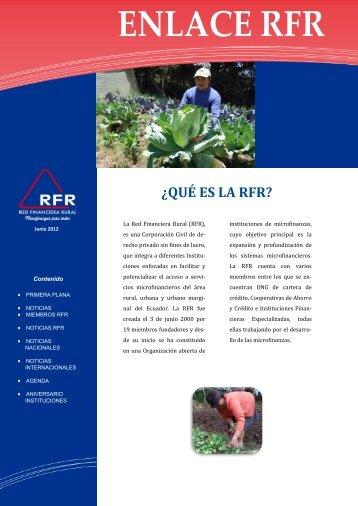 Boletín Junio 2012 - Red Financiera Rural