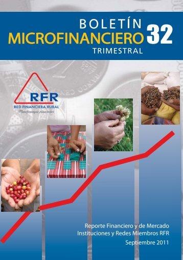 Septiembre 2011 - Red Financiera Rural