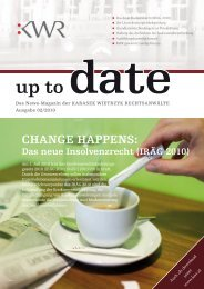 Up to date nr 02 09/2010 - KWR