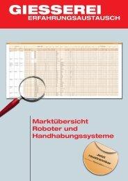 Roboter und Handhabungssysteme 2012 - Giesserei Verlag