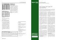Agrar Info BUKO Agrar Koordination