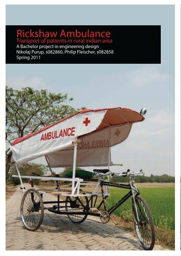 Rickshaw Ambulance - InnoAid