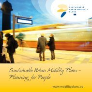 SUMP brochure - SUSTAINABLE URBAN MOBILITY PLANS