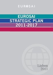 Eurosai Strategic Plan ANG.indd