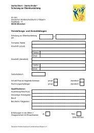 Vorstellungs- und Anmeldebogen - Deutscher Kinderschutzbund ...