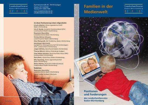 Familien in der Medienwelt - Deutscher Kinderschutzbund Baden ...