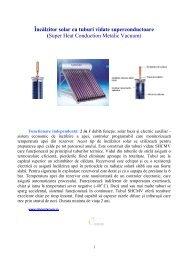 1. Avantaje - phoenix panouri solare