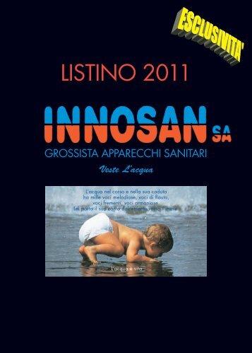 LISTINO 2011 - Innosan SA