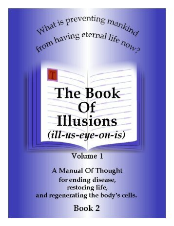 The Book of Illusions Vol. 1 corrected - Additional message from the ...