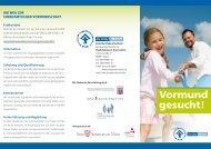 Projektflyer - Deutscher Kinderschutzbund