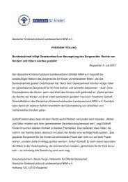 04.07.12 Sorgerecht ledige Väter - Kinderschutzbund NRW e.V.