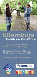 Elternkurs - Kinderschutzbund Ortsverband Stuttgart
