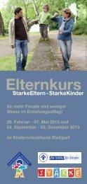 Flyer 2013 - Kinderschutzbund Ortsverband Stuttgart