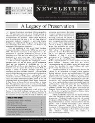 A Legacy of Preservation - Cincinnati Preservation Association