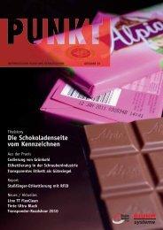 Die Schokoladenseite vom Kennzeichnen - Bluhm Systeme GmbH