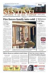 January 31, 2013 PDF Edition - The Sentinel