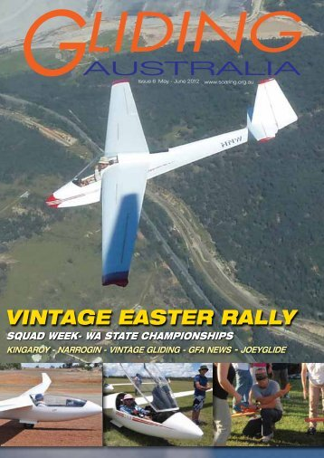 VINTAGE EASTER RALLY - Gliding in Australia