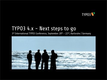 Gimme Five! TYPO3 4.x - Next steps to go - ingo-renner.com