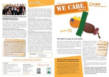 Download Newsletter 2/2011 - CARE Deutschland e.V.