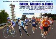 Cottbuser Tangentenlauf 2012 - Webseiten bei geponet.de