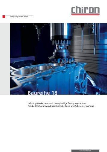 CHIRON Baureihe 18 - CHIRON Werke GmbH & Co. KG