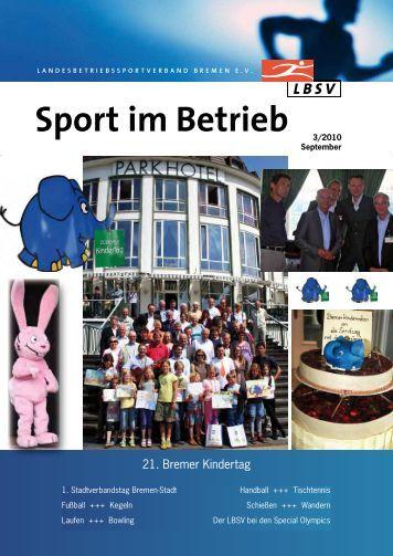 Ausgabe 03/2010 - Landesbetriebssportverband Bremen eV