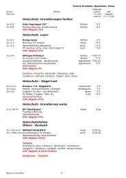 Holzschutz- Grundierungen farblos Holzschutz- Lasur H ... - Durag