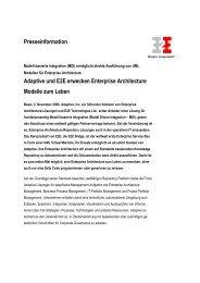 Adaptive und E2E erwecken Enterprise Architecture Modelle zum ...