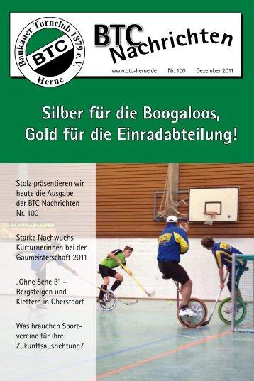 BTC Nachrichten Nr. 100 - Dezember 2011 - Baukauer Turnclub in ...