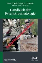 Inhaltsverzeichnis aus dem Handbuch der Psychotraumatologie