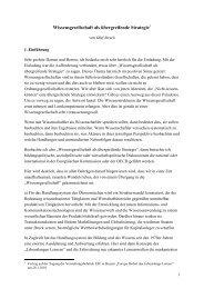 Wissensgesellschaft (O. Struck) (pdf - 56.51 KB) - Europäischer ...
