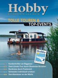 Flyer Erlebnisreisen (3,73 MB) - Hobby Caravan