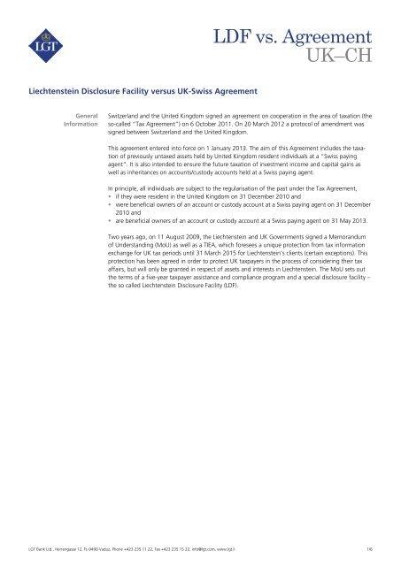 Fact Sheet Ldf Versus Uk Ch Agreement Liechtenstein Disclosure