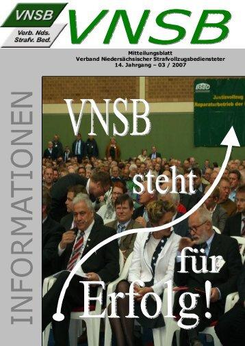 VNSB-Info 03/07