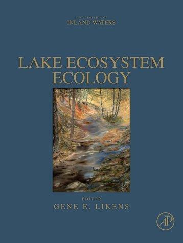 Lake Ecosystem Ecology - Index of