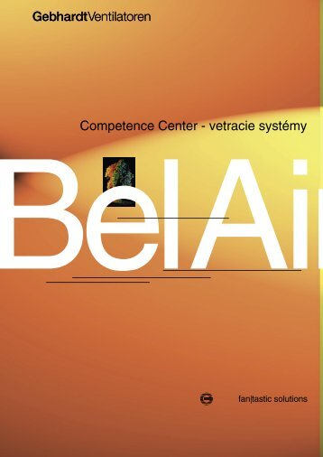 Competence Center - vetracie systémy - klimasystem.sk