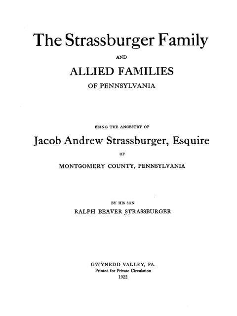 Strassburger Genealogy Strassburger Us