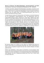 Bericht zur Exkursion nach Finnland Stora Enso - Beuth Hochschule ...