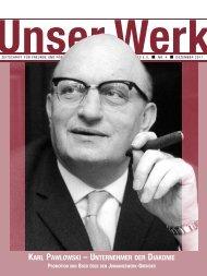 Karl Pawlowski – eine bedeutende Gestalt der ... - Johanneswerk